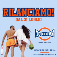 Touch Down Metaponto, Rilanciamo!